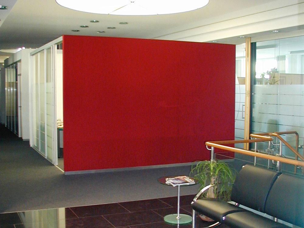 Besprechungsräume im Büro integriert