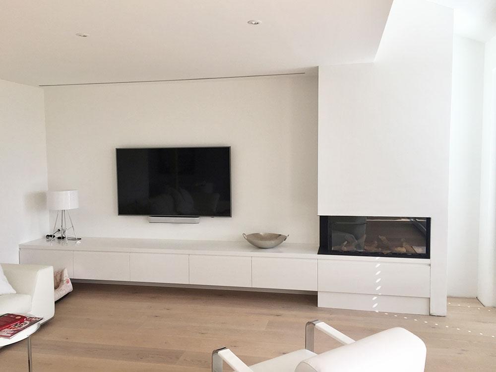 Elegantes Design in weiss / Villa am Bodensee