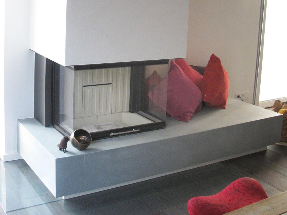 Feuerstelle neu gedacht / Umbau bei München
