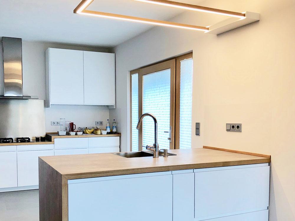 Individuell geplante Küche / Umbau in Friedrichshafen